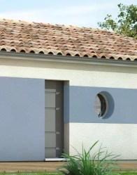 maison plain pied eridan - ouvertures modernes