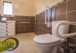Maison PMR avec salle de bain adaptée