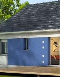 Maison plain Amaryllis - enduit biton