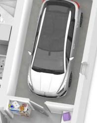 plan maison 3D garage