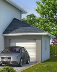 Garage accolé - maison individuelle Iseran