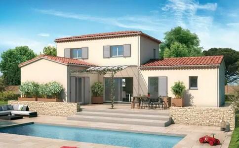 Plan maison provençale Orchidée