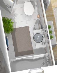 Plan maison 3D - maison provençale Orchidée