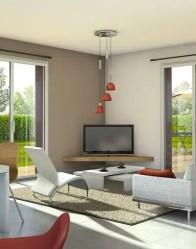 Vue 3D - maison individuelle Smile