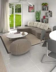 Maison plain pied - vue 3D salon