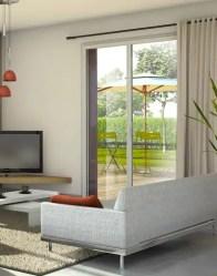 vue 3D maison en L Java