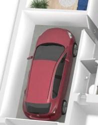 Plan maison 3D gratuit - maison en L