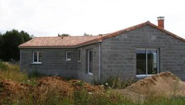 maison neuve hors d'air