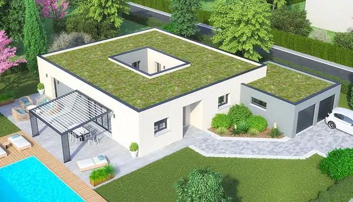 Maison moderne Atria - toit plat