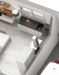 Plan maison EMOJI - Cuisine en L