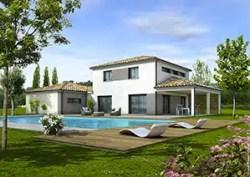 Plan maison moderne TAHITI