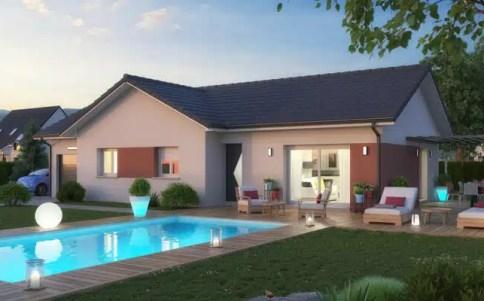 Plan maison plain-pied Tournette - constructeur maison