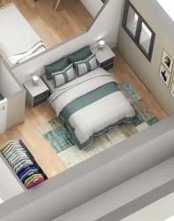 Maison individuelle Vercors - vue chambre