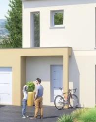 Maison traditionnelle Snap - Vue Porte d'entrée
