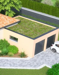 Maison moderne Atria - double garage