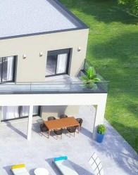 Maison individuelle Dubaï - Terrasse ombragée
