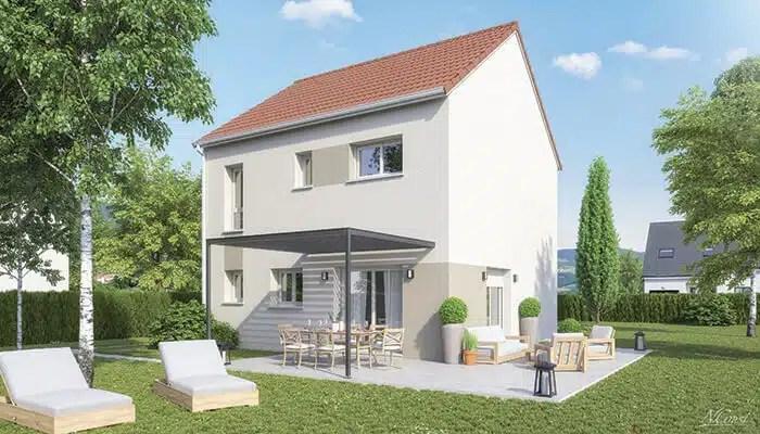 Maison individuelle avec terrasse City