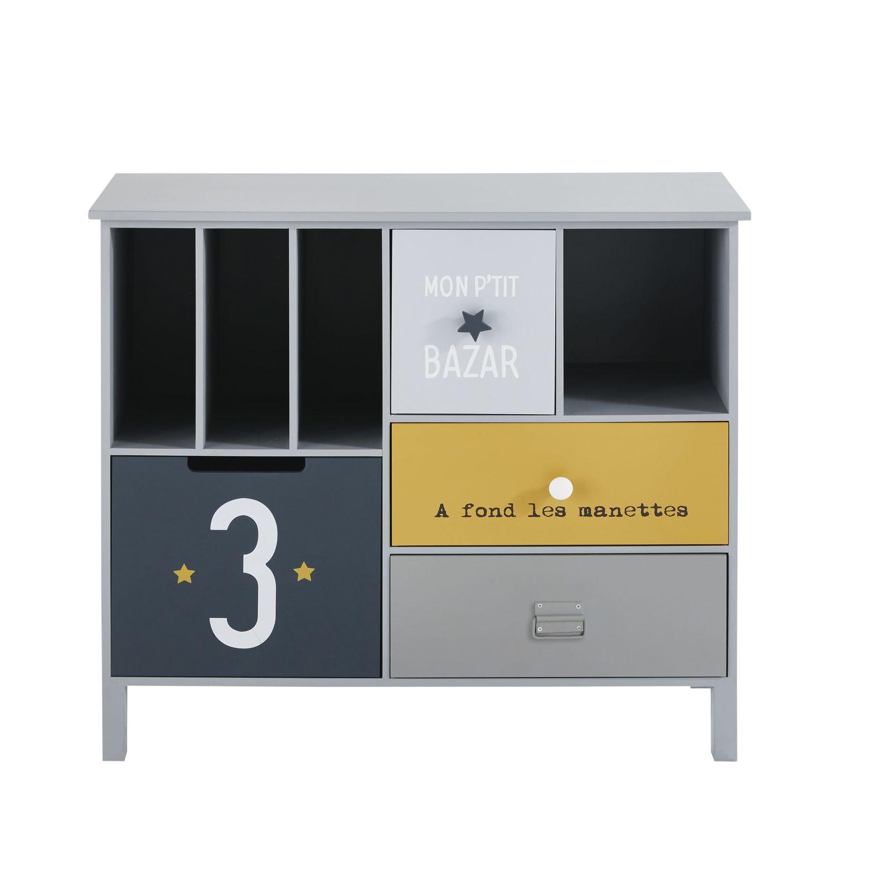 children s 4 drawer storage cabinet petit bolide