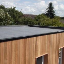 construction de toiture plate étanche