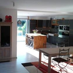 intérieur de maison en ossature bois