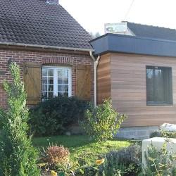 extension de maison en bois hersin coupigny