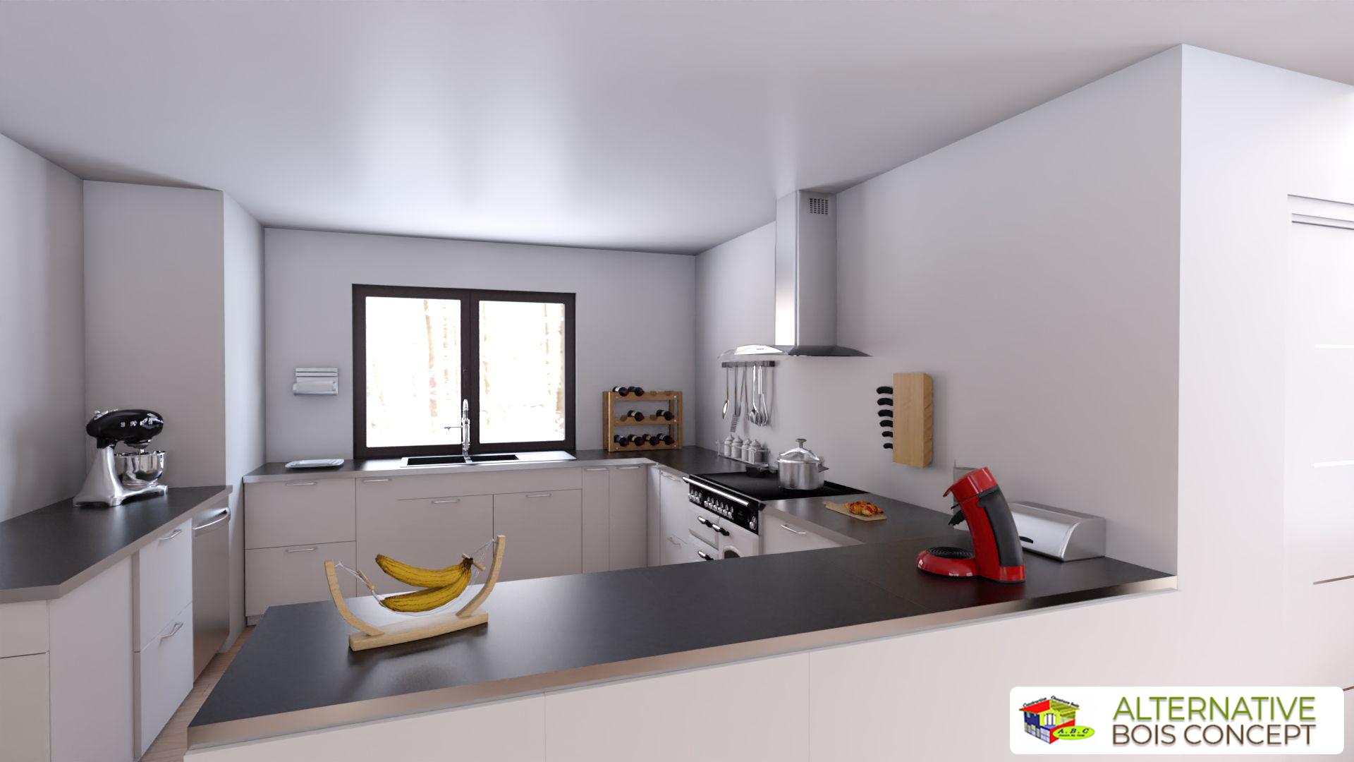 cuisine maison bio climatique