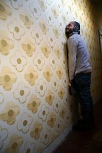 Didier tapisserie, par Violaine Bavent.