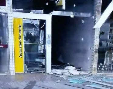 Banco do Brasil foi alvo da ação de bandidos