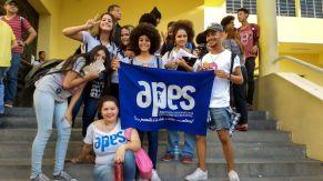 Estudantes participam de protesto (Foto: Bruno Lira/MaisPB)
