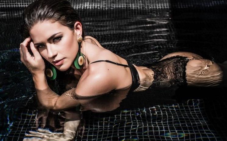 Repórter do 'Domingão do Faustão' posa nua para a Playboy