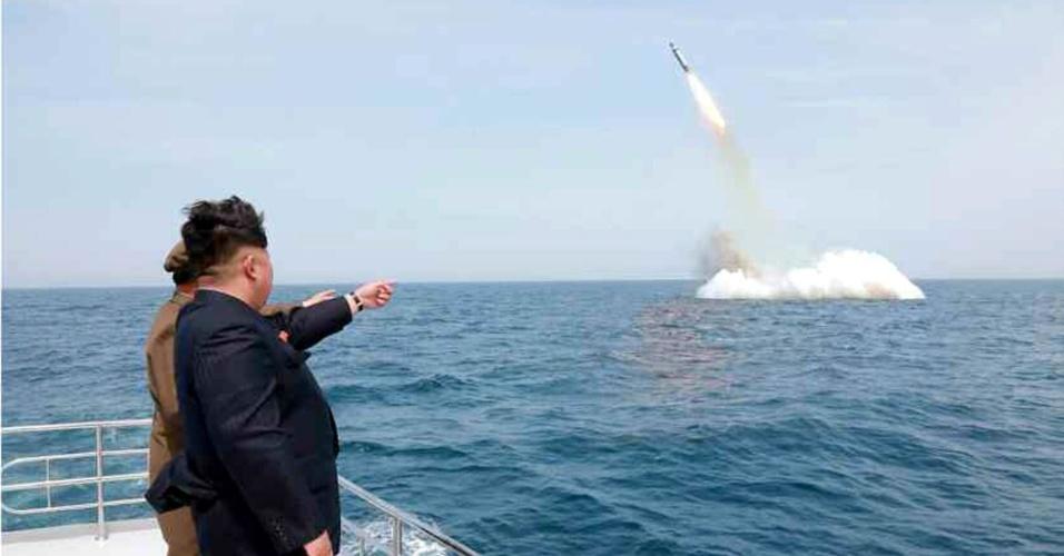 Trump diz que ameaças da Coreia do Norte terão 'respostas severas'