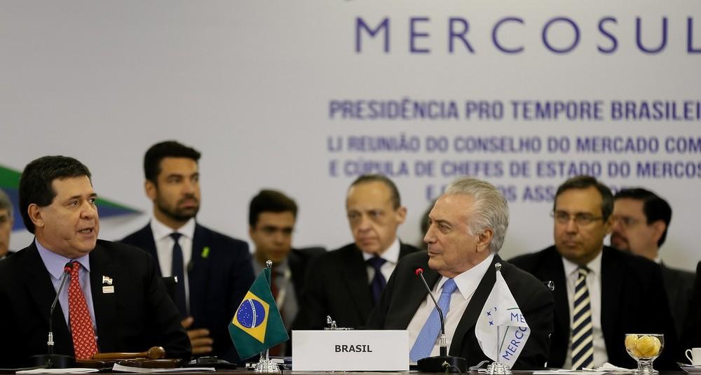 Líderes do Mercosul se reúnem para Cúpula em Brasília