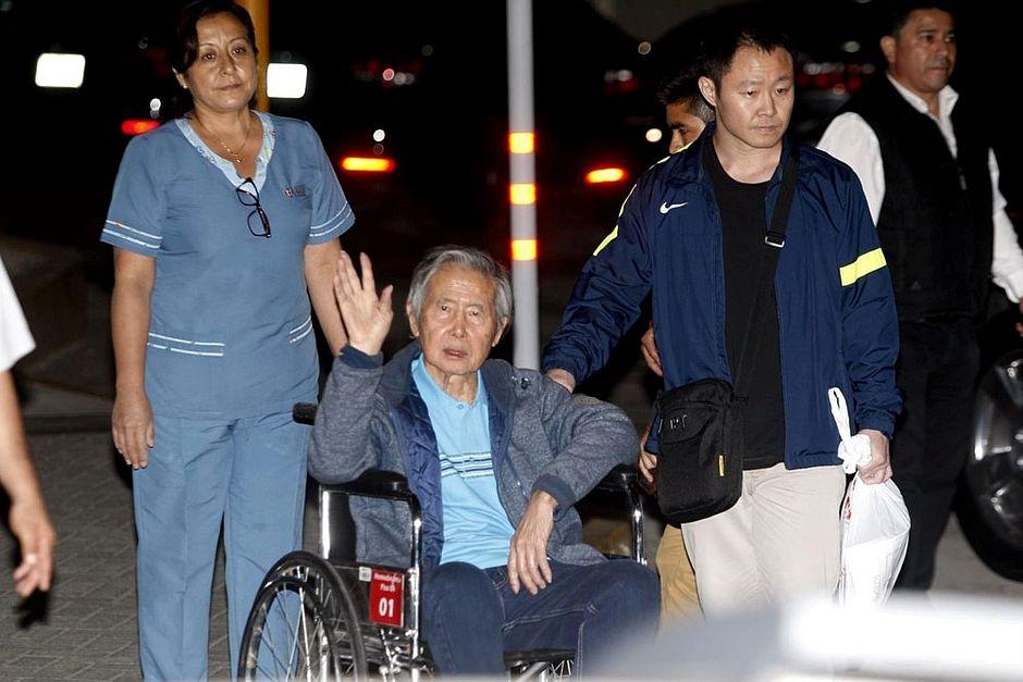 Fujimori permanece estável após 10 dias em hospital no Peru