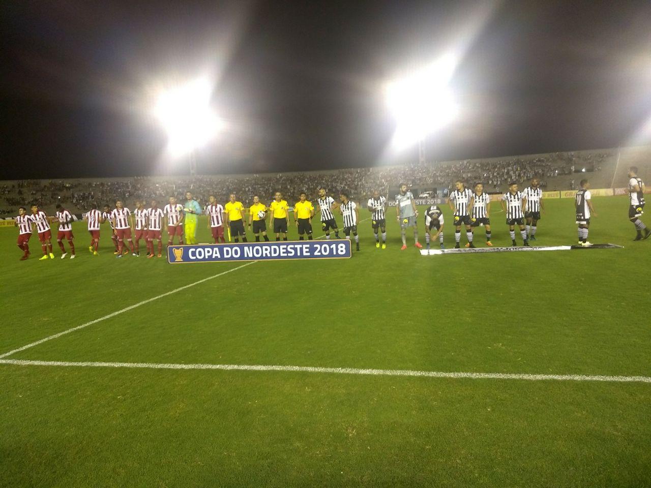 Botafogo-PB vence o Náutico e se isola no topo