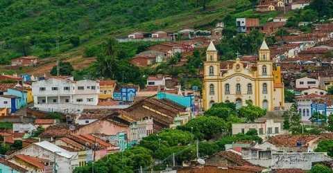 Vista parcial de Alagoa Grande, terra de Jackson do Pandeiro