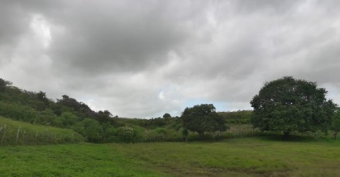 Tempo nublado na Zona da Mata paraibana