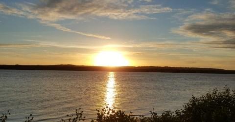 Pôr do Sol na Praia do Jacaré, em Cabedelo, Litoral Paraibano