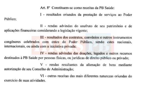 630BDB7E 3BA1 4D43 BFA3 A128A0EF091B - Governo do Estado cria Fundação que vai gerir Saúde na Paraíba