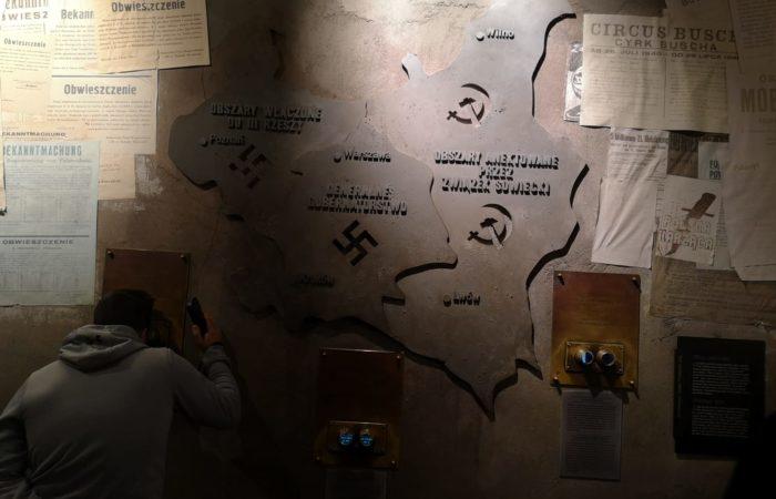 mappa murale_museo insurrezione Varsavia