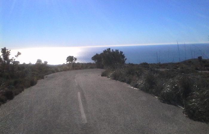17 01 2019 - Parc del Garraf- paesaggio sud 3
