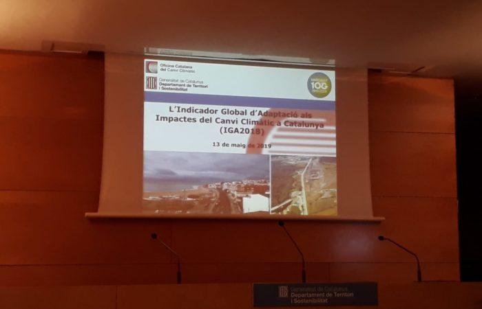 Incontro per la Presentazione dell'Indicatore Globale del Cambio Climatico presso l'Oficina Catalana de Cambio Climatico
