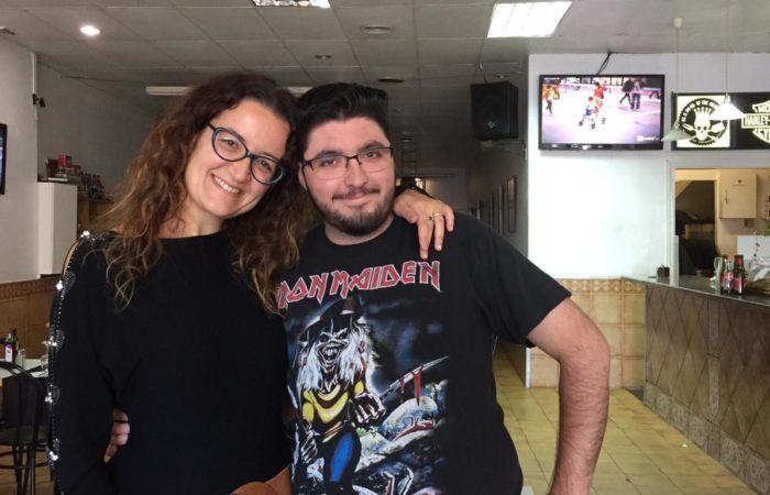 Con Rafa de La Nau