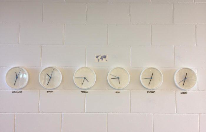 orari del mondo in uffcio