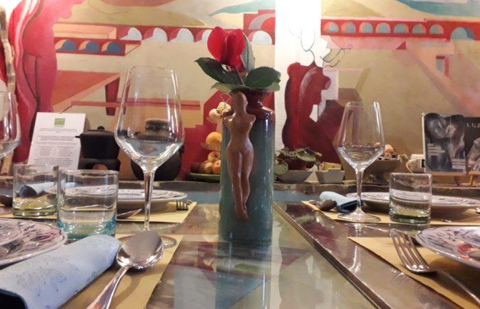 tavolo con guappe