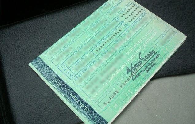 Lei por dirigir sem o documento do veículo muda em novembro