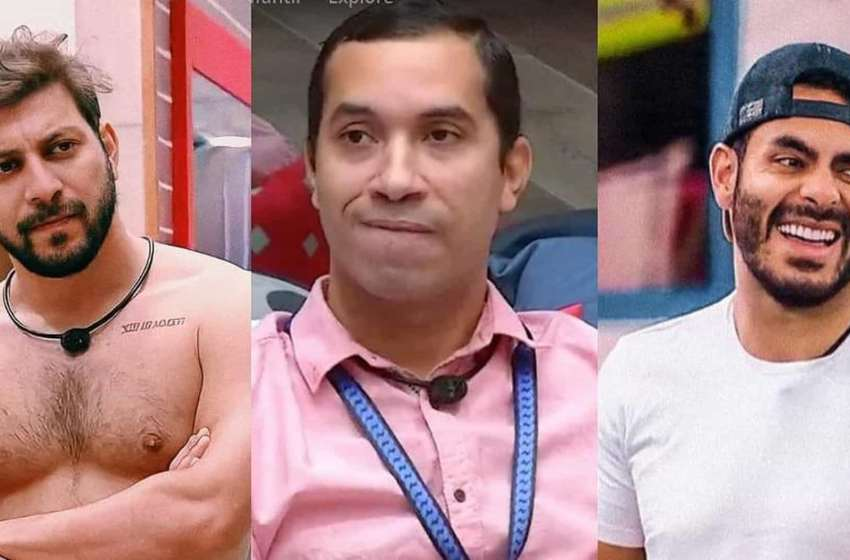 Gilberto disputa paredão do BBB 21 contra Caio e Rodolffo