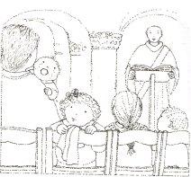 Messe en famille, Maïte Roche, Panorama 1986
