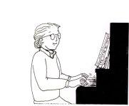 Piano, Maïte Roche, Panorama, 1986