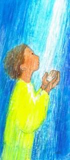 Baptême, eau vive Signet, Maïte Roche
