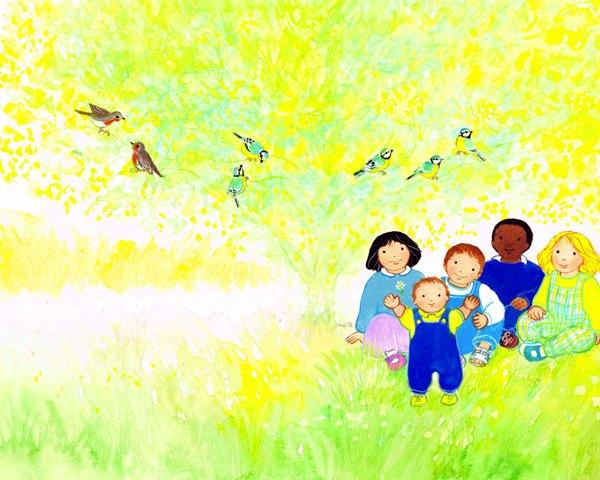 Le royaume de Dieu, in Enfant de la création, Maïte Roche, Mame, 1990